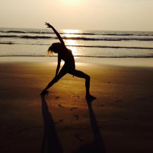Peaceful warrior (Shanti Virabhadrasana)